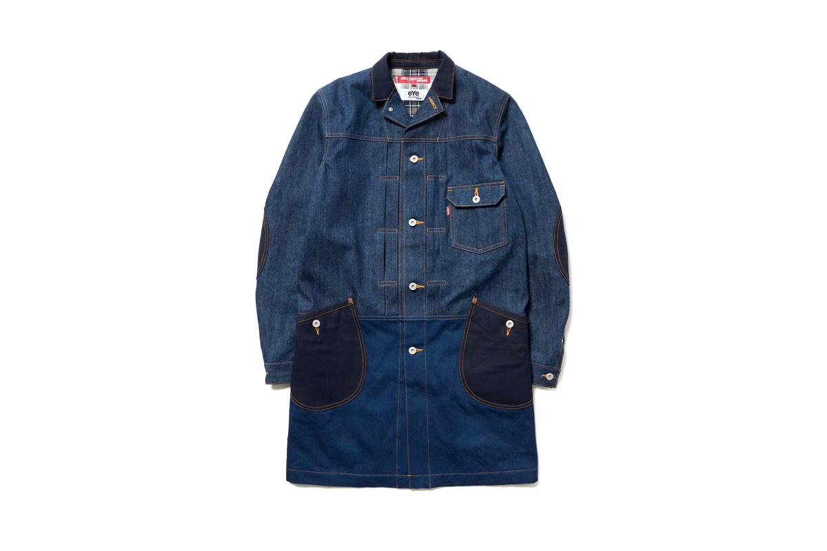 eYe COMME Des GARÇONS Junya Watanabe MAN x Levi's Continue to Elevate Workwear Staples