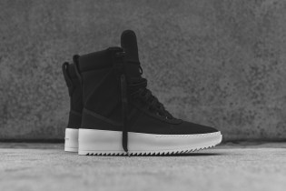 Fear of God Launches Its Military Sneaker in Black Nylon