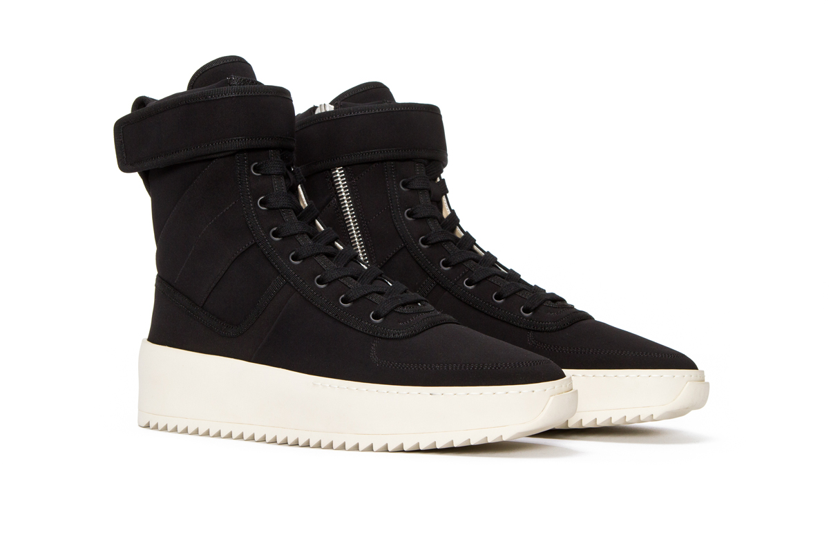 An Official Look at the Fear of God Military Sneaker