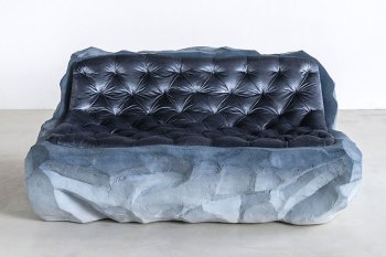 This Patagonian Glacier-inspired Sofa Is Awkwardly Comfortable