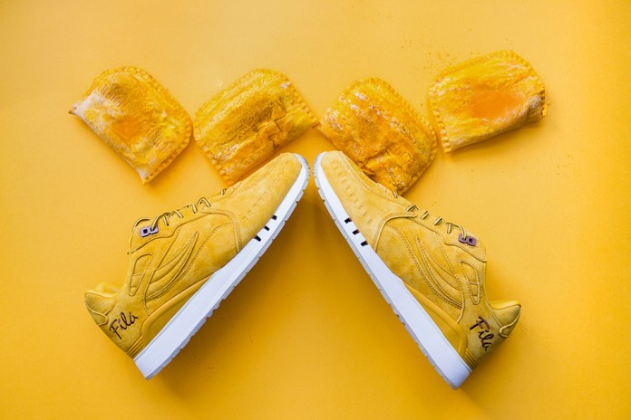 FILA & Alumni Create Jamaican Beef Patty-Inspired Sneaker