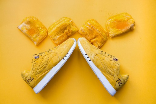 FILA & Alumni Create Jamaican Beef Patty Inspired Sneaker