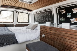 Filmmaker Converts Cargo Van Into a Living Studio Space
