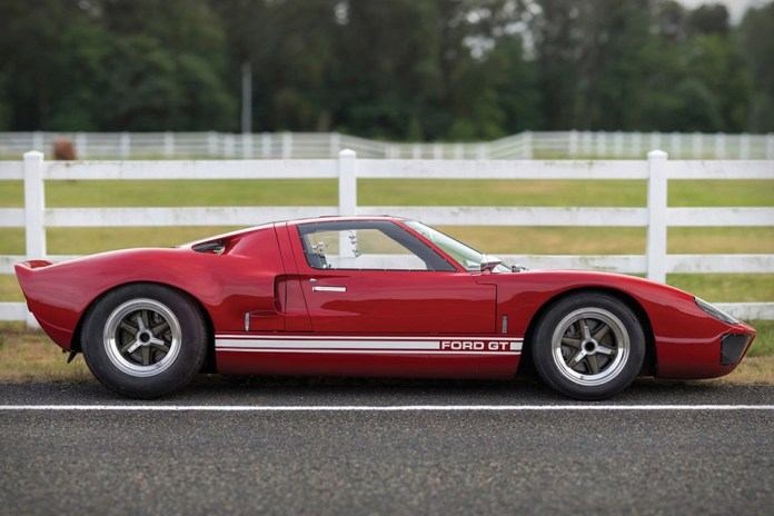 This Right-Hand Drive 1966 Ford GT40 Is One of Only Seven Models Sent to America