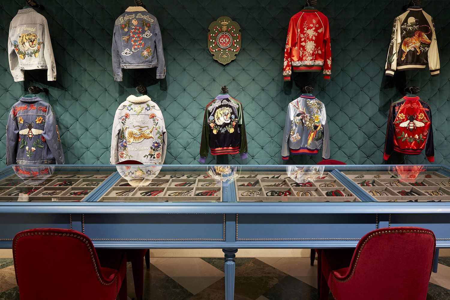 Gucci Launches a DIY Customization Parlor in Milan