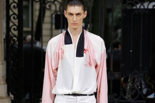Haider Ackermann Shows off an Energetic 2017 Spring/Summer Collection