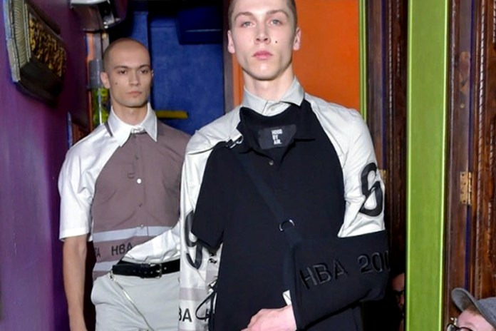 Hood By Air Showed Its 2017 Spring/Summer Collection in a Marais Sex Club