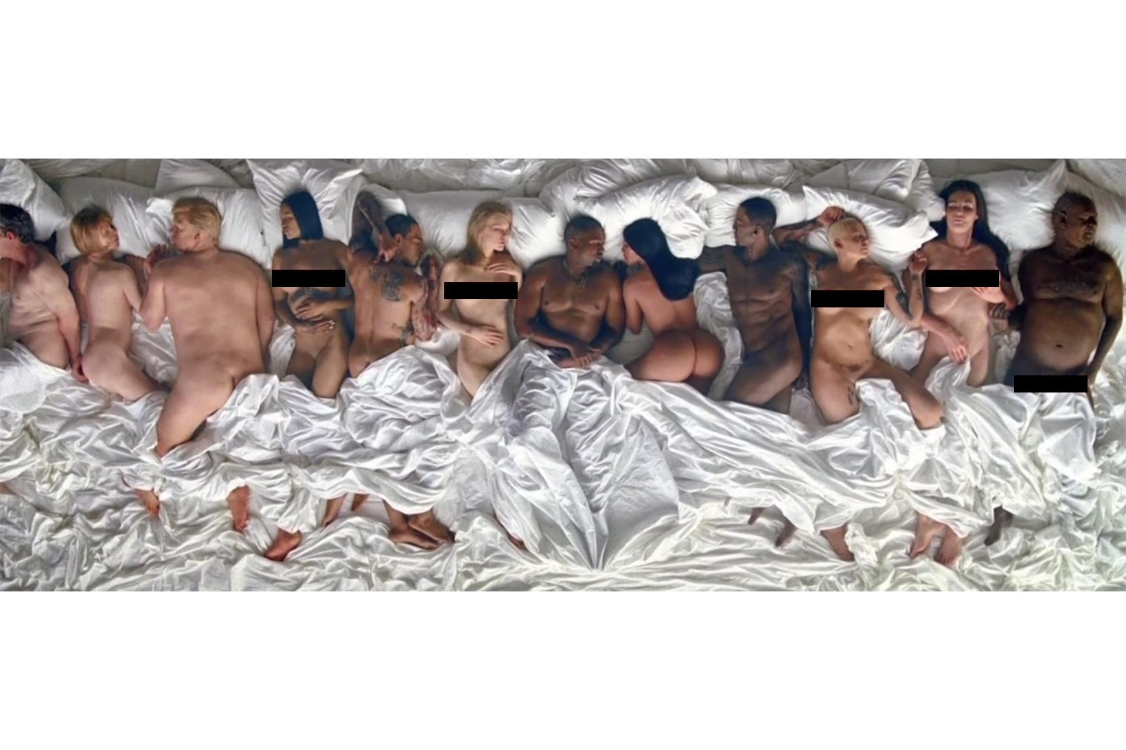 "Picture of Kanye West Sheds Light on the Thought-Provoking ""Famous"" Video"