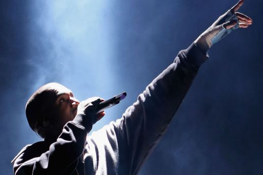"Kanye West Debuted an Hour-Long Version of ""Father Stretch My Hands"" at Paris Fashion Week"