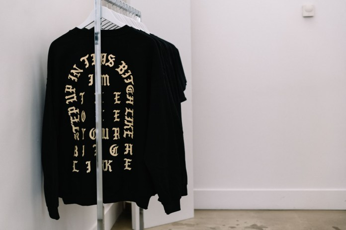 Inside and Outside of Kanye West's 'The Life of Pablo' Pop-Up in Paris