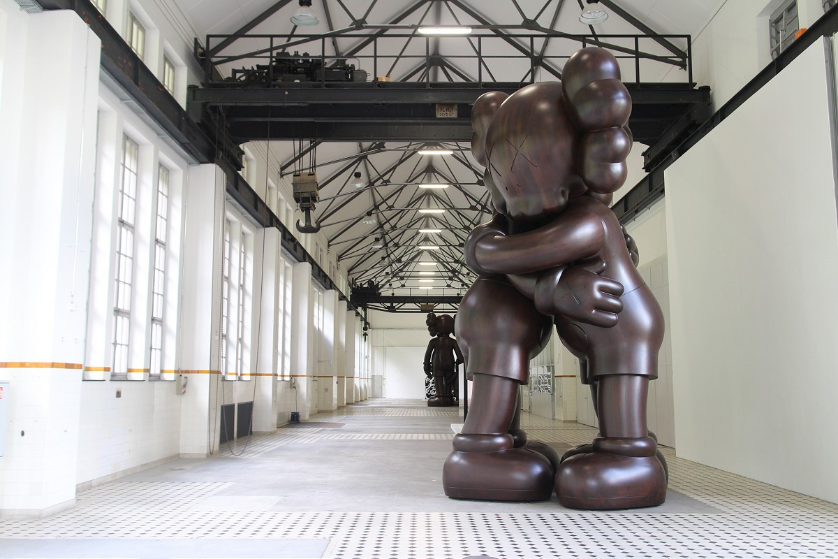KAWS Presents New Works at Giswil's More Gallery