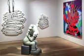 KAWS's First Exhibition in South Korea at Galerie Perrotin