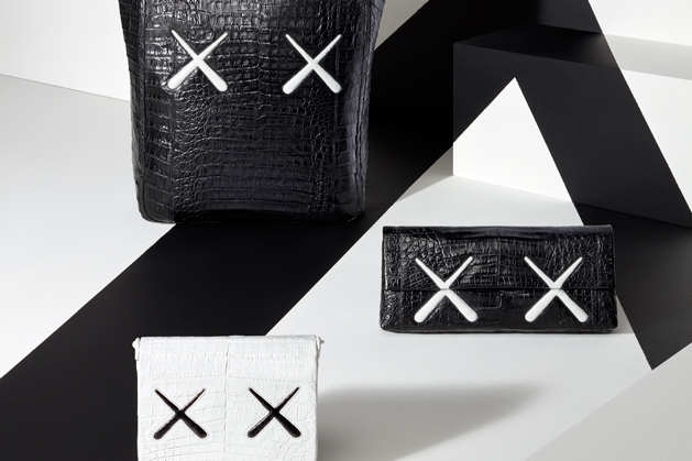 KAWS and Nancy Gonzalez Team up for New Monochromatic Bag Collection