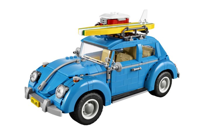 LEGO Creator's Volkswagen Beetle Is Amazingly Detailed