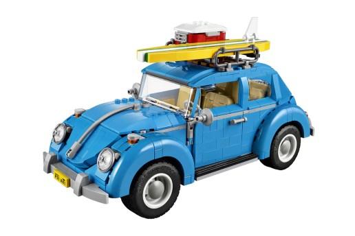 LEGO Creator's Volkswagen Beetle Is Amazingly Detailed