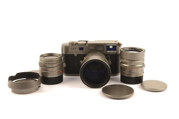 This Rare Leica Leitz Titanium M7 Is Priced at $190,000 USD