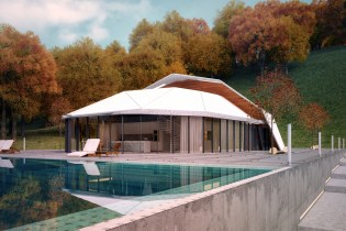 "Lenz Architects' ""Shell House"" Is One Part Villa, One Part Fortress"