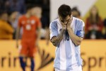 Picture of Lionel Messi Announces Retirement from Argentina National Team