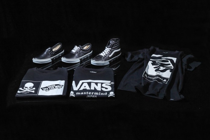 mastermind JAPAN & Vans Drop a Range of Footwear and Apparel
