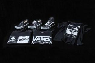 mastermind JAPAN & Vans Drop a Range of Footwear and Apparel