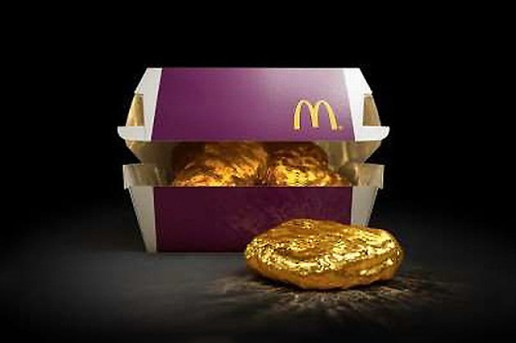 McDonald's Japan Will Be Giving Away a Solid Gold Nugget to One Lucky Customer