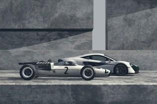 McLaren's M2B-Inspired 570S Celebrates Its 1966 Formula 1 Debut