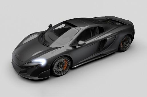 McLaren Covers the 675LT Spider in Carbon Fiber