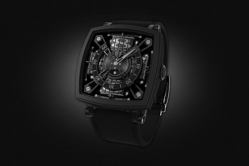 The MCT S-110 Vantablack Watch Costs $95,000 USD