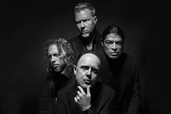 Metallica Are the New Faces of Brioni