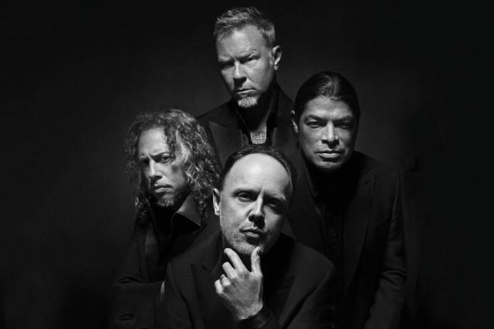 Metallica Are the New Faces of Brioni