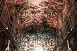 Full-Scale Replica of Michelangelo's Sistine Chapel Debuts in Mexico City