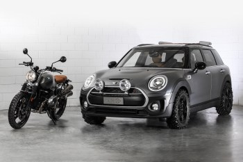 The Mini Clubman Heads Off-Road With the All4 Scrambler Concept