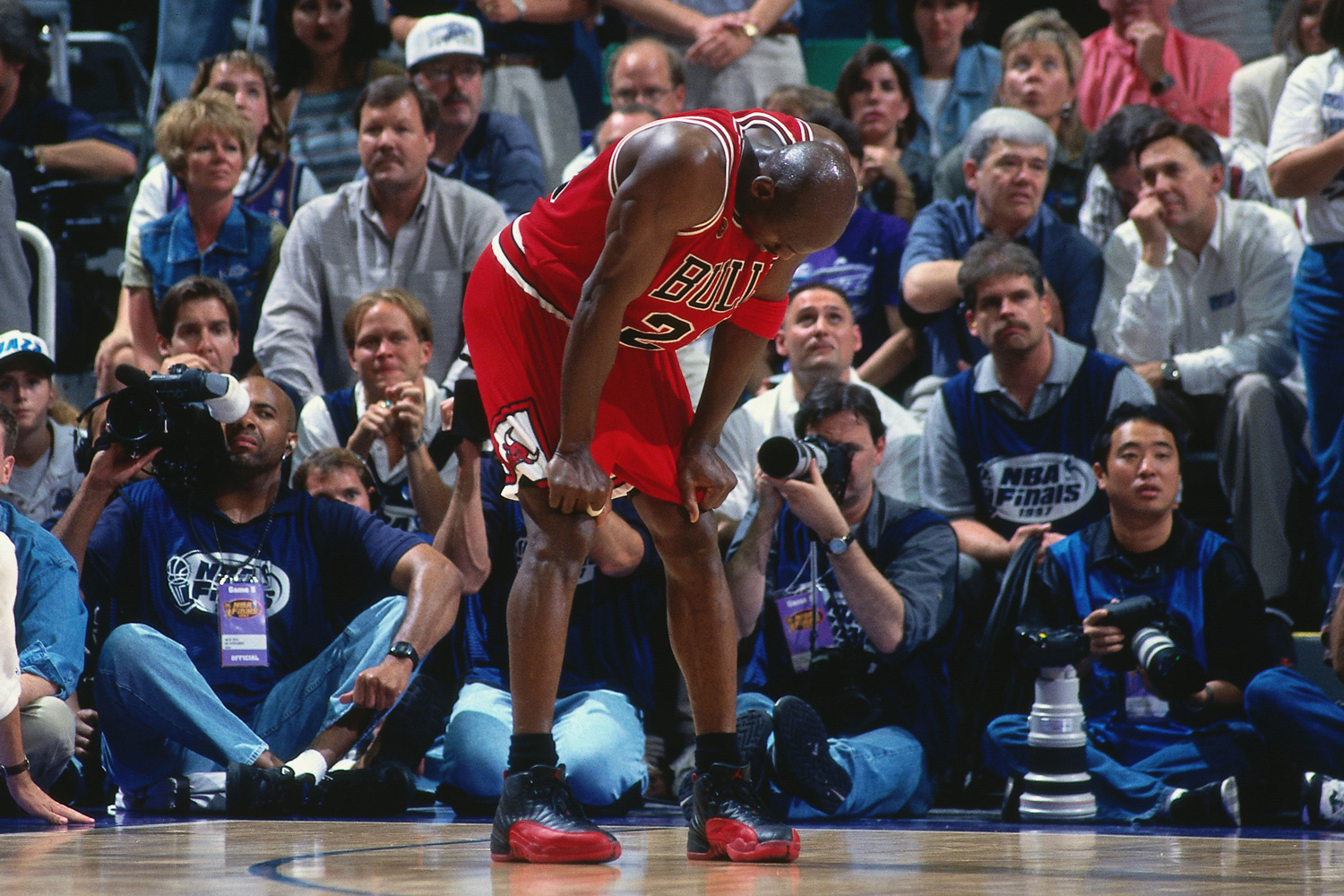 """Mitchell & Ness Celebrate the Famous """"Flu Game"""" With the Release of Michael Jordan's 1997 NBA Finals Jerseys"""
