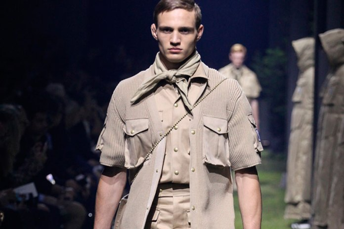 Thom Browne Takes on the Boy Scouts' Uniform for Moncler Gamme Bleu's 2017 Spring/Summer Collection