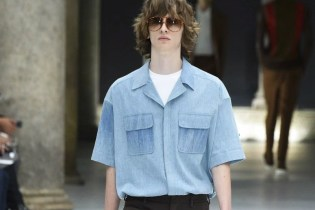 Neil Barrett's Spring 2017 Collection Draws Design Cues From Vintage American TV Shows