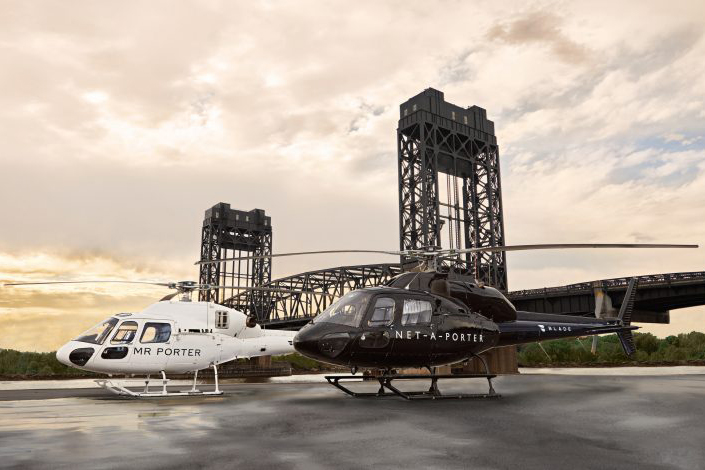 Net-a-Porter and MR PORTER Take Luxury to New Heights With BLADE