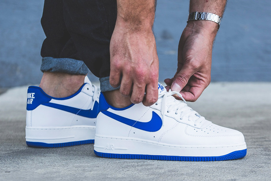 """Get to Stomping in the Nike Air Force 1 Low """"Game Royal"""""""