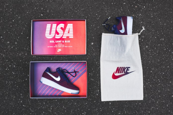 "Nike Drops an Exclusive ""USA Family"" Air Force 1 Ultra Flyknit at KITH"
