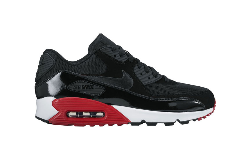 "The Nike Air Max 90 and Air Huarache Get a ""Bred"" Makeover"