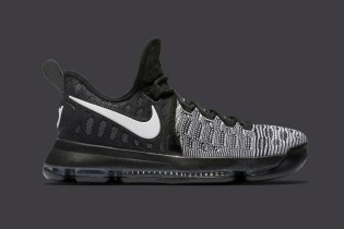 "The Nike KD 9 Gets the ""Oreo"" Look"