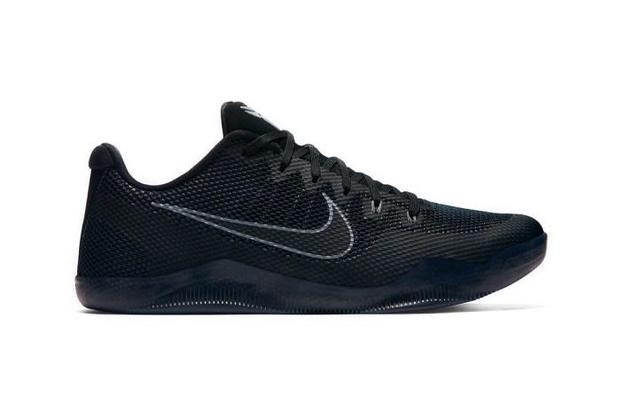 The Nike Kobe 11 Gets a Tonal Black Makeover