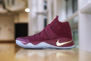 Nike Gives a Cavs Treatment to the Kyrie 2 PE