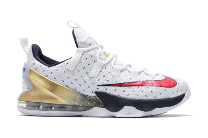 Nike Gives LeBron's Kicks a Patriotic Makeover for the Olympics
