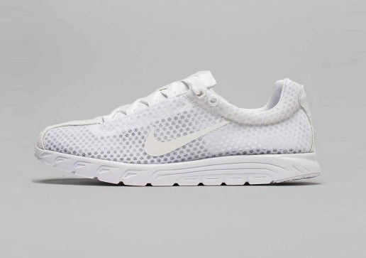 Nike Gives the Mayfly a Premium All-White Makeover