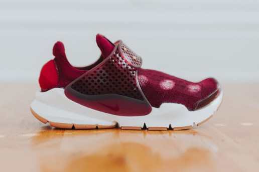 "The Nike Sock Dart Gets The Royal Treatment In ""Night Maroon"""