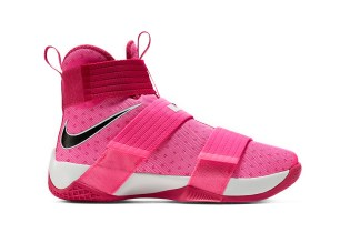 """Nike's LeBron Soldier 10 Silhouette Receives the """"Think Pink"""" Theme"""