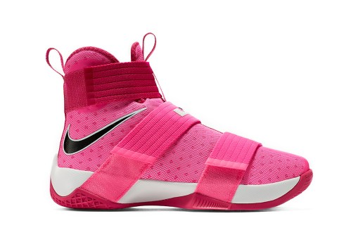 "Nike's LeBron Soldier 10 Silhouette Receives The ""Think Pink"" Theme"