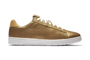 Nike Coats the Tennis Classic Ultra in Gold for Wimbledon