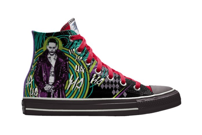 Customize Your Converse Kicks With 'Suicide Squad' Illustrations on NIKEiD