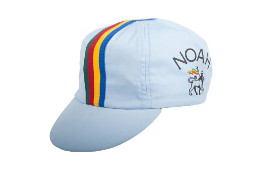 Noah Takes the Cycling Cap for a Spin